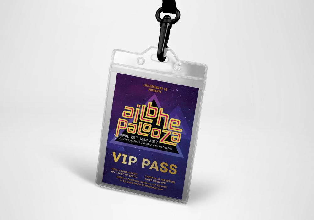 Ailbhepalooza- Pass