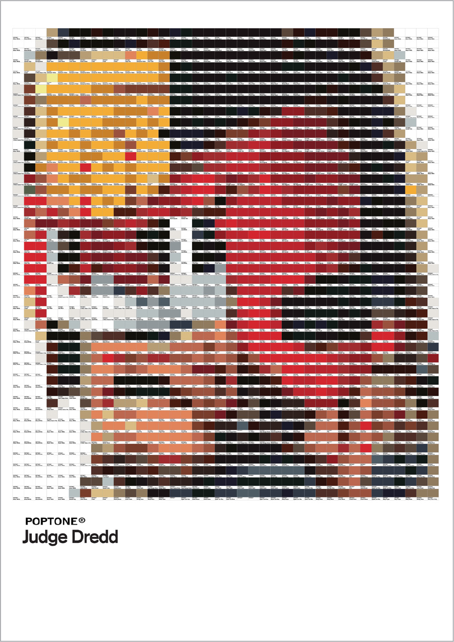 Poptone - Judge dredd