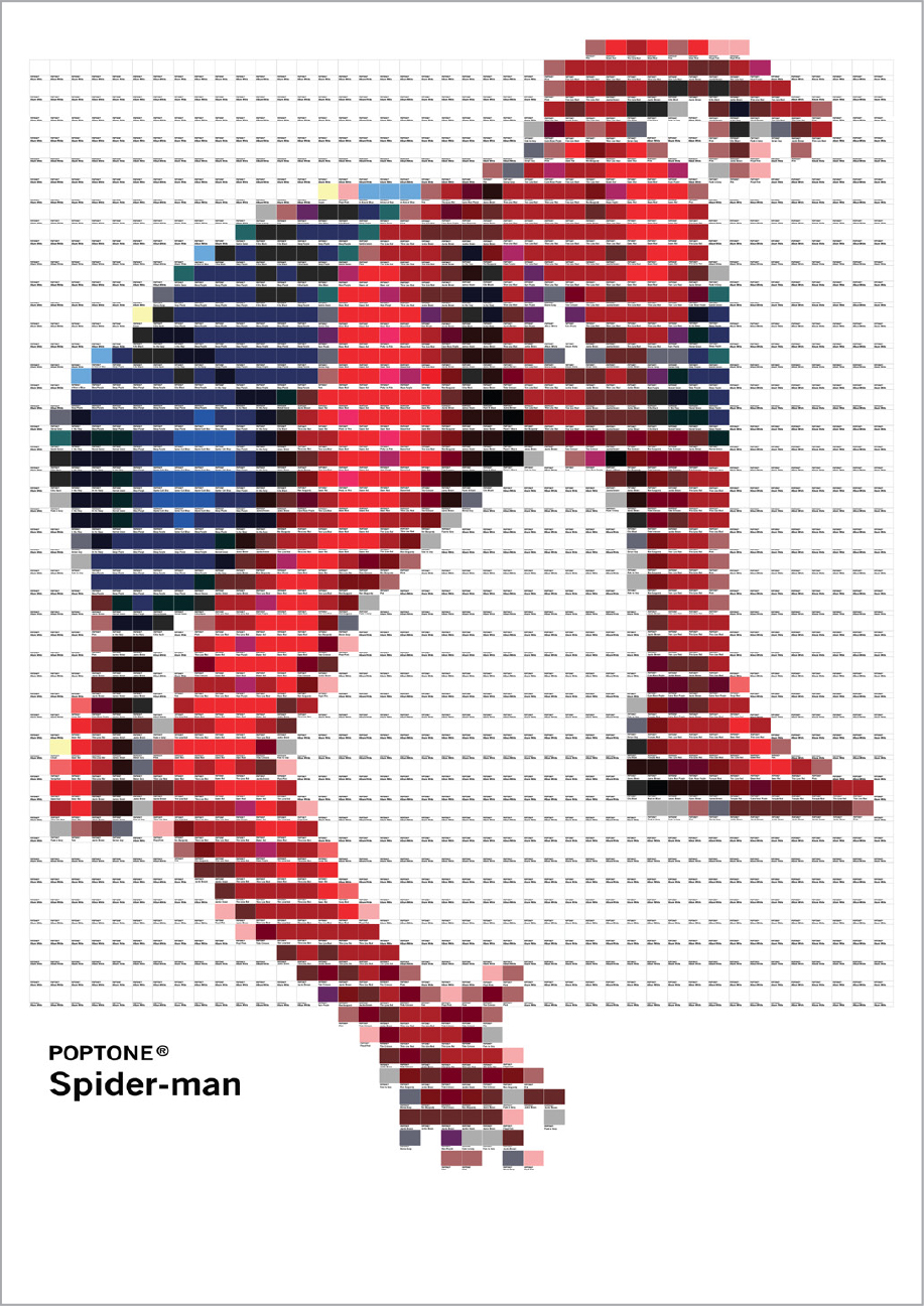 Poptone - Spider-man